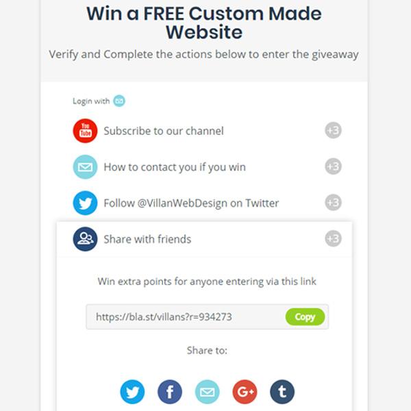 Contest Share options