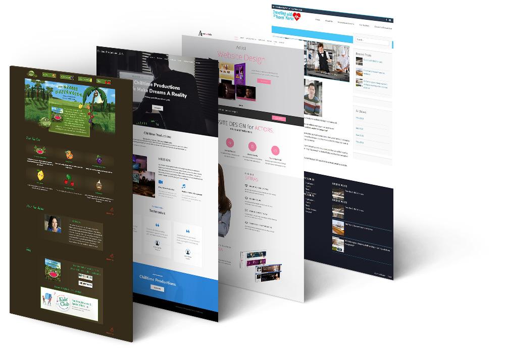 Website Design preview